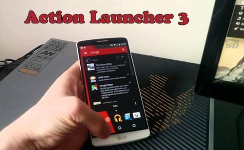 اکشن لانچر (برای اندروید) - Action Launcher 3 3.8 Android