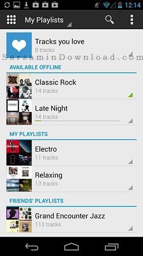 نرم افزار موزیک پلیر (برای اندروید) - Deezer 5.3.7 Android