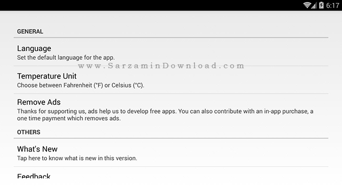 نرم افزار مشاهده سخت افزار (برای اندروید) - Droid Hardware Info 1.1.0 Android