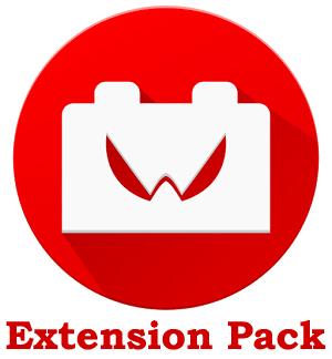 نرم افزار ویجت ساعت (برای اندروید) - Extension Pack 1.1 Android