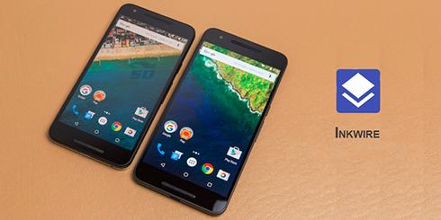 نرم افزار پخش همزمان یک تصویر در چند گوشی (برای اندروید) - Inkwire 1.0 Android