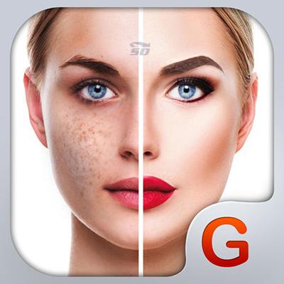 آموزش آرایش صورت در موبایل آیفون