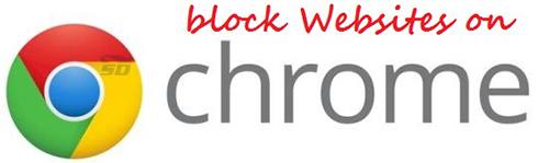آموزش مسدود کردن سایت ها در کروم