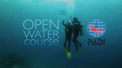 آموزش غواصی - PADI Water Diver