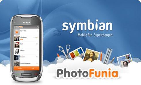نرم افزار ویرایش عکس (برای سیمبین) - Photofunia Symbian