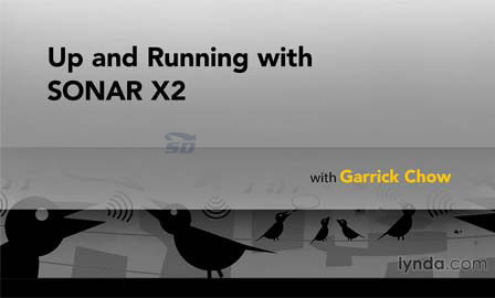 آموزش نرم افزار سونار - Up and Running with SONAR X2