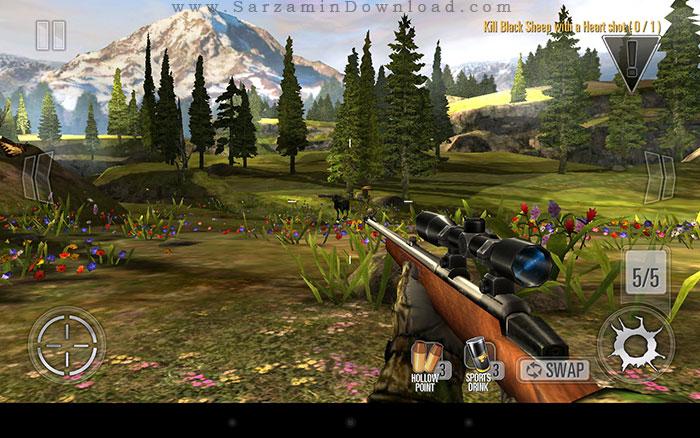بازی شکار حیوانات (برای اندروید) - DEER HUNTER 2014 v.2.11.9 Android
