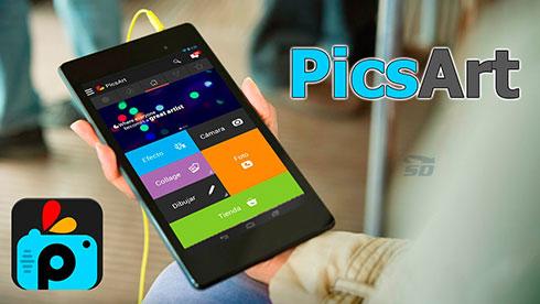 نرم افزار ویرایش تصاویر (برای اندروید) - PicsArt Photo Studio 5.34.4 Android