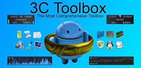 نرم افزار همه کاره (برای اندروید) - 3C Toolbox Pro 1.9.2 Android