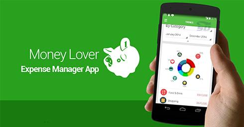 نرم افزار حسابداری (برای اندروید) - Money Lover 3.5.87 Android