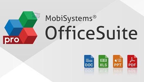 نرم افزار آفیس (برای اندروید) - OfficeSuite 8 v.8.9.6282 Android