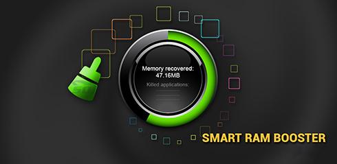 نرم افزار افزایش سرعت موبایل (برای اندروید) - Smart RAM Booster Pro 6.4 Android