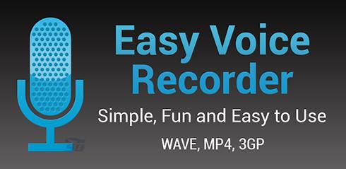 نرم افزار رکوردر (برای اندروید) - Easy Voice Recorder Pro 2.3.1 Android