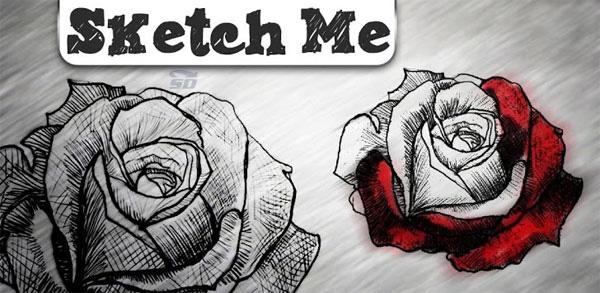 نرم افزار تبدیل عکس به نقاشی (برای اندروید) - Sketch Me Pro 1.72 Android