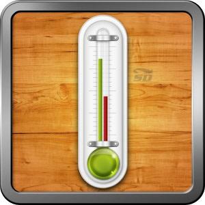 نرم افزار دماسنج (برای اندروید) - Smart Thermometer PRO 3.0 Android