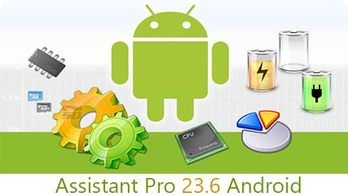 نرم افزار همه کاره (برای اندروید) - Android Assistant Pro 23.31 Android