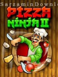 بازی کودکانه (برای جاوا) - Pizza Ninja 4 Java