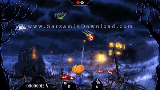 بازی کودکانه (برای آیفون) - Shoot The Zombirds 1.2 iOS