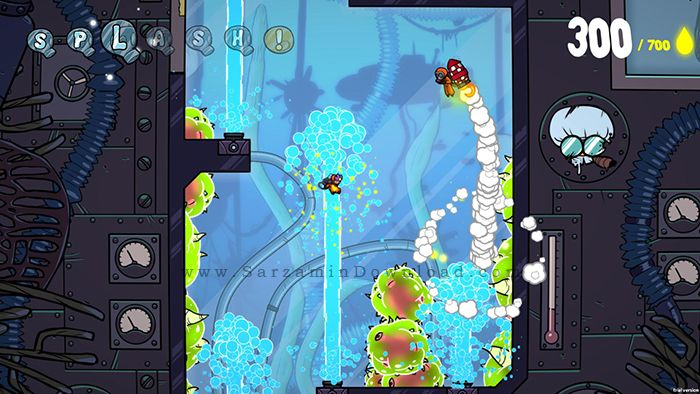 بازی کودکانه (برای کامپیوتر) - Splasher PC Game