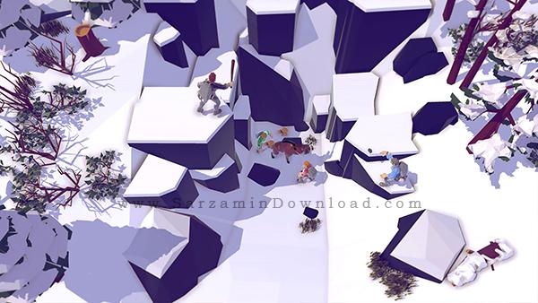 بازی ماجراجویی گم شده در کوه (برای کامپیوتر) - The Wild Eight PC Game