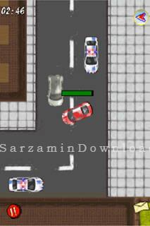 بازی فرار از پلیس (برای جاوا) - Thief Runner Java
