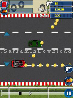 بازی ماشین (برای جاوا) - Traffic Racing Java