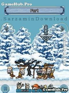 بازی جنگی (برای جاوا) - Vikings Winter Adventure Java