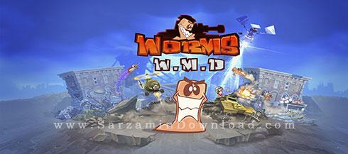 بازی جنگی کرم ها (برای کامپیوتر) - Worms W.M.D PC Game