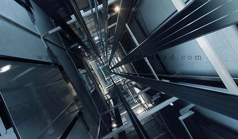 کتاب انواع آسانسور و اجزای مختلف آن