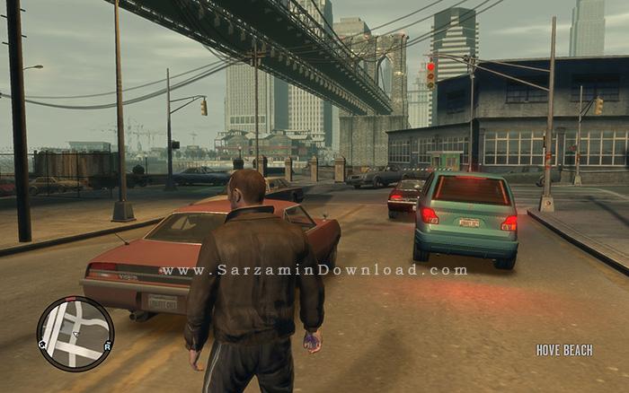 بازی جی تی ای آی وی (برای کامپیوتر) - Grand Theft Auto IV PC Game