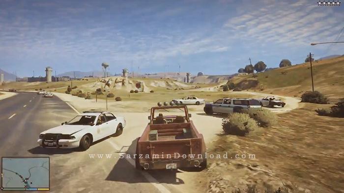 بازی جی تی ای وی (برای کامپیوتر) - Grand Theft Auto V PC Game