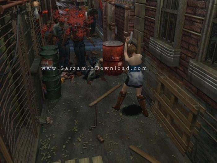بازی رستاخیز شیطان 3 (برای کامپیوتر) - Resident Evil 3 Nemesis PC Game