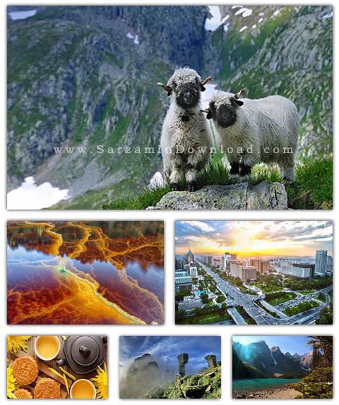 مجموعه متنوع تصاویر والپیپر با موضوعات مختلف - Mix Wallpaper Pack