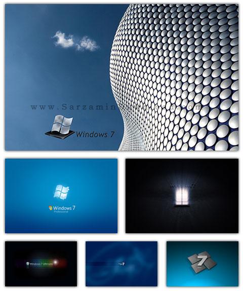 مجموعه تصاویر والپیپر با موضوع ویندوز 7 - Windows 7 Wallpaper