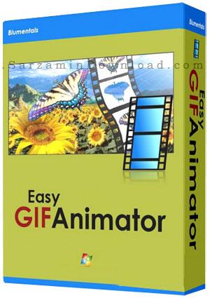 نرم افزار ساخت عکس های متحرک (برای ویندوز) - Easy GIF Animator 6.2 Windows