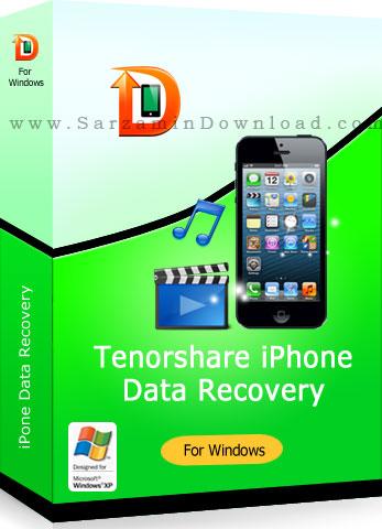 نرم افزار بازیابی اطلاعات آیفون (برای ویندوز) - Tenorshare iPhone Data Recovery 7.0.0.2 Windows