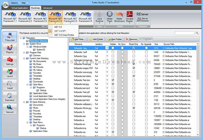 نرم افزار ساخت برنامه های پرتابل (برای ویندوز) - Turbo Studio 17.0.886 Windows