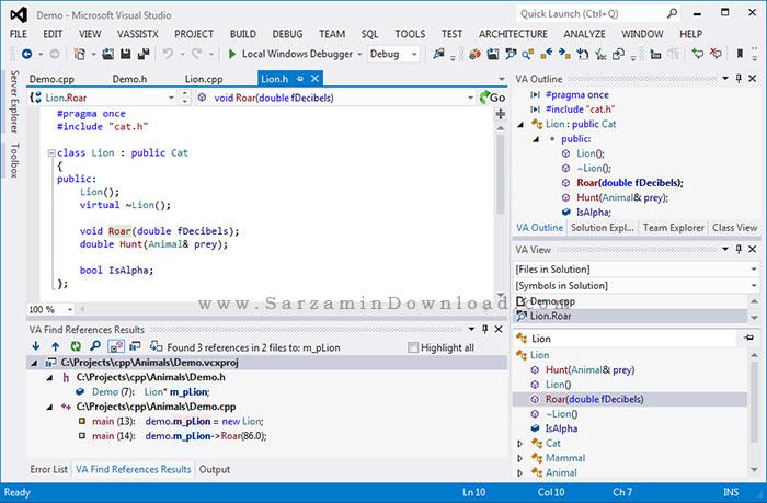 نرم افزار افزایش سرعت برنامه نویسی (برای ویندوز) - Whole Tomato Visual Assist X 10.9.2223 Windows