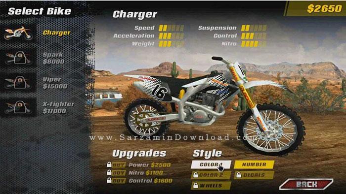 بازی موتور پرشی (برای کامپیوتر) - MX Nitro PC Game