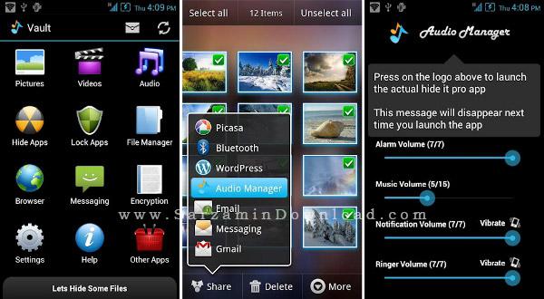 نرم افزار مخفی سازی (برای اندروید) - Hide It Pro 5.4 Android