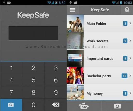 نرم افزار مخفی کردن تصاویر (برای اندروید) - Hide Pictures 7.11 Android