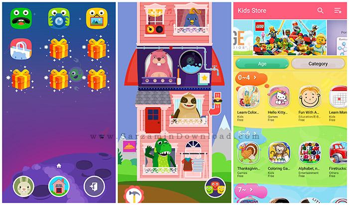 نرم افزار تغییر گوشی برای استفاده کودکان (برای اندروید) - Kid Mode Free Games 4.9.8 Android