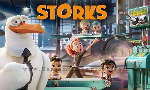 انیمیشن لک لک ها 2016 - Storks 2016 Animation