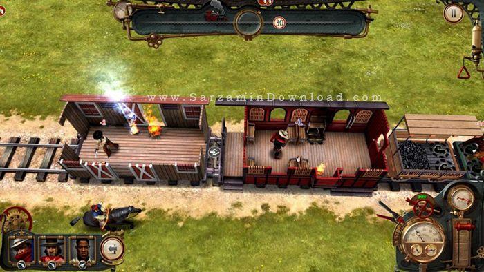 بازی قطار جایزه (برای کامپیوتر) - Bounty Train PC Game