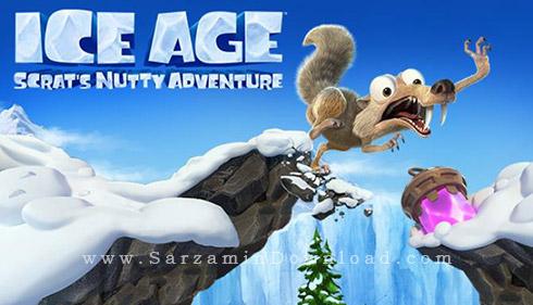 بازی عصر یخبندان، ماجرای اسکرت و آجیل (برای کامپیوتر) - Ice Age Scrats Nutty Adventure PC Game