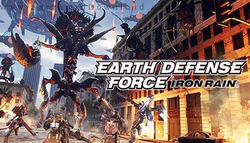 بازی مدافعین زمین، باران آهن (برای کامپیوتر) - Earth Defense Force IRON RAIN PC Game