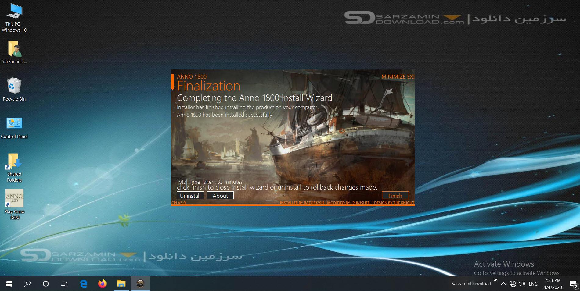 بازی آنو 1800 (برای کامپیوتر) - Anno 1800 Deluxe Edition PC Game