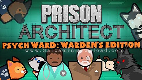 بازی مهندس زندان (برای کامپیوتر) - Prison Architect Psych Ward Wardens Edition PC Game