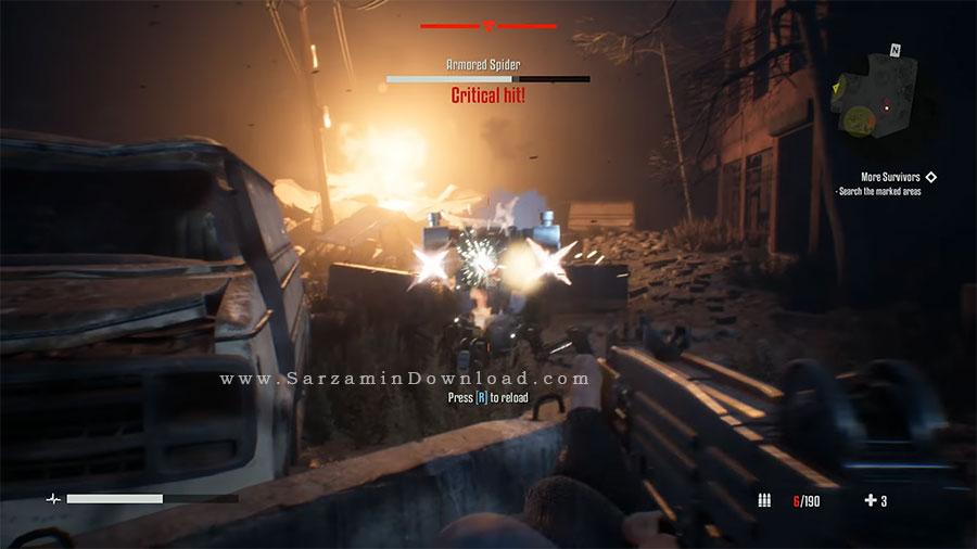 بازی ترمیناتور (برای کامپیوتر) - Terminator Resistance PC Game
