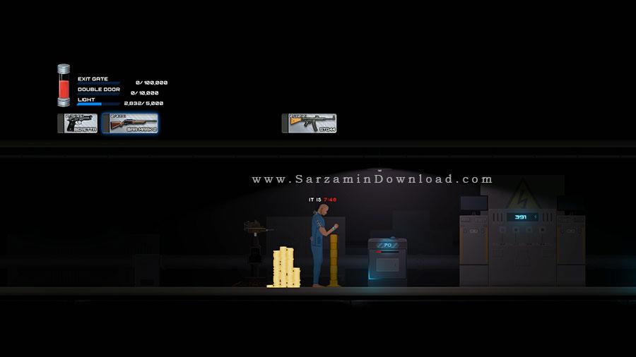 بازی آزمایشگاه شماره 7 (برای کامپیوتر) - Lab 7 Cold Nights PC Game